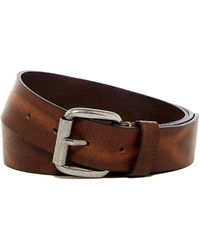 Martin Dingman - Italian Bridle Leather Belt - Lyst