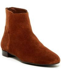 Delman - Myth Ankle Bootie - Lyst