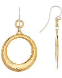 Gurhan - 24k Gold Vermeil Large Tapered Hoopla Earrings - Lyst