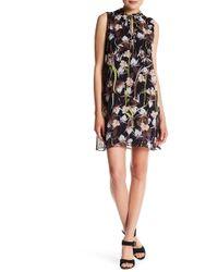 Philosophy Apparel - Sleeveless Floral Dress - Lyst