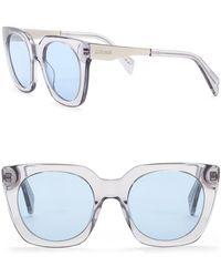 Just Cavalli - Retro 51mm Plastic & Metal Sunglasses - Lyst