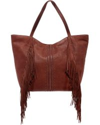 Lucky Brand - Zori Leather Tote - Lyst
