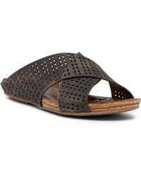 Klub Nico - Gamada Leather Slide Sandal - Lyst