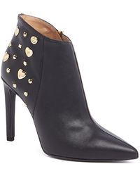 Love Moschino - Studded Ankle Bootie - Lyst