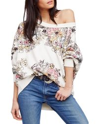 Urban Outfitters - Go On Floral Pullover - Lyst