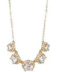 Nadri - Round Cz Pendant Necklace - Lyst