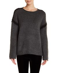 Dex - Stitched Oversized Jumper - Lyst