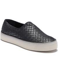 Stuart Weitzman - Givein Woven Platform Sneaker - Lyst