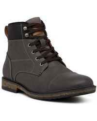 Call It Spring - Simoneau Cap Toe Boot - Lyst