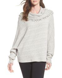 Michael Lauren - Oversize Turtleneck Sweater - Lyst