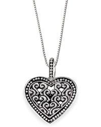 Lori Bonn - Bb Sweets Sterling Silver Hello, Lover Token Pendant Necklace - Lyst