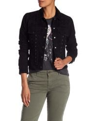 Lucky Brand - Lace-up Suede Jacket - Lyst