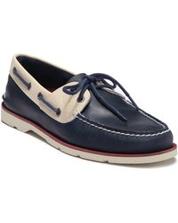 Sperry Top-Sider - Leeward 2-eye Leather Nautical Boat Shoe - Lyst
