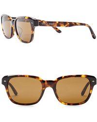 Giorgio Armani - Wayfarer 53mm Acetate Frame Sunglasses - Lyst