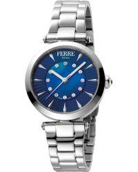 Ferrè Milano - Women's Stainless Steel Watch, 38mm - Lyst