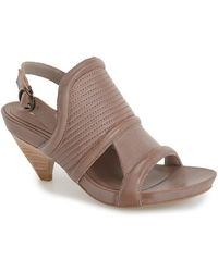 Max Studio - 'mesa' Demi Wedge Platform Sandal (women) - Lyst