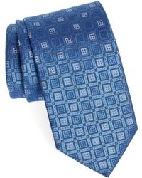 Eton of Sweden Geometric Silk Tie