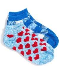 Make + Model - 2-pack Plush Low Cut Socks - Lyst