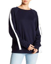 W118 by Walter Baker - Parker Snap Sleeve Sweatshirt - Lyst
