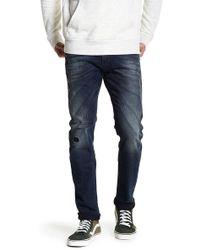 DIESEL - Tepphar Distressed Jeans - Lyst