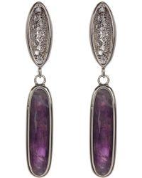 Melinda Maria - Jasmine Pod Drop Earrings - Lyst