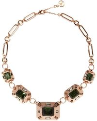 Vince Camuto - Emerald-cut Statement Necklace - Lyst