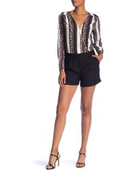 1.STATE - Long Sleeve Cross Front Romper - Lyst