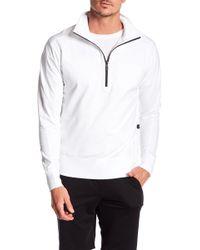 Good Man Brand - Front Quarter Zip Microlight Tech Jacket - Lyst