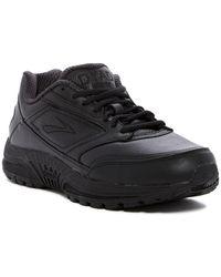 Brooks - Dyad Leather Walking Sneaker - Lyst