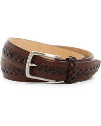 Tommy Bahama - Braided Genuine Leather Belt - Lyst