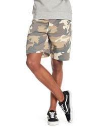 Wesc - Marty Camo Shorts - Lyst