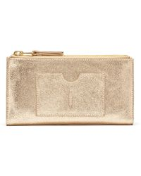 Thacker NYC - Nico Leather Double Zip Wallet - Lyst