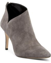 55e4391e915 Enzo Angiolini - Ruthely Suede Bootie - Wide Width Available - Lyst