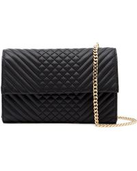 Vince Camuto   Fayna Leather Clutch   Lyst