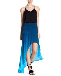 Young Fabulous & Broke   Kylie Swirled Pattern Hi-lo Skirt   Lyst