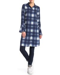 Love Scarlett - Plaid Button Down Dress - Lyst
