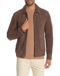 Theory - Suede Jacket - Lyst