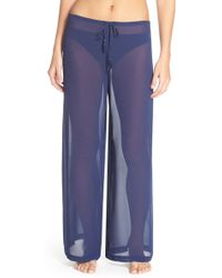 Tommy Bahama - Chiffon Cover-up Pants - Lyst