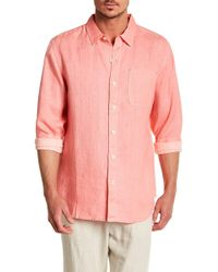 Tommy Bahama - Waikiki Sea Glass Breezer Relaxed Fit Shirt - Lyst
