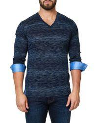 Maceoo - V-neck Long Sleeved Shirt - Lyst