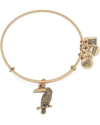 ALEX AND ANI - 'team Usa - Toucan' Expandable Wire Bangle - Lyst