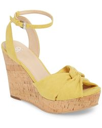 BP. - Arya Platform Wedge Sandal (women) - Lyst