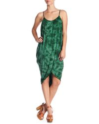 Green Dragon - Crystal Forest Genevieve Wrap Dress - Lyst