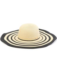 429e4e661d5 Lyst - Vince Camuto Crochet Floppy Hat in Natural