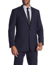 Brooks Brothers - Navy Check Classic Fit Suit Separates Jacket - Lyst