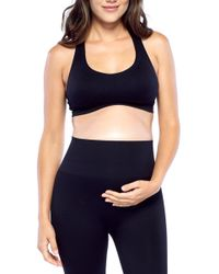 e41677571180d Electric Yoga - Woven Back Sports Bra (maternity) - Lyst