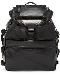 Alexander McQueen - Leather Tech Backpack - Lyst
