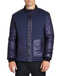Revo - Reversible Quilted Jacket - Lyst