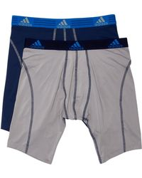 adidas - Sport Midway Brief - Pack Of 2 - Lyst
