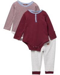 7 For All Mankind - 2 Bodysuits & Pants Set (baby Boys 12m-18m) - Lyst